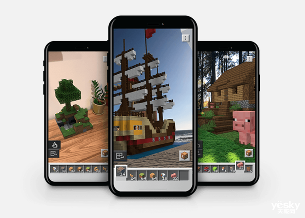 AR游戏《我的世界地球》将于10月登陆iOS和Android