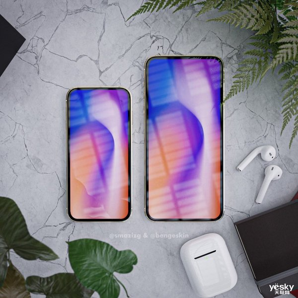 这些无刘海的2020款iPhone 你喜欢吗