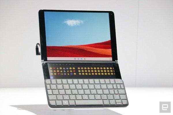 微软Surface Neo只是开始 2020年将有更多双屏及折叠屏PC发布