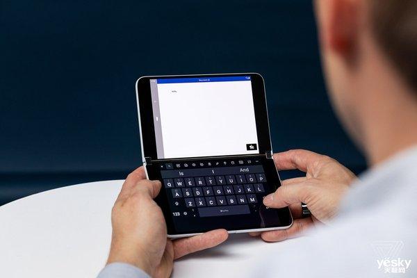 口袋里的Surface手机 Surface Duo是微软对移动办公的新探索