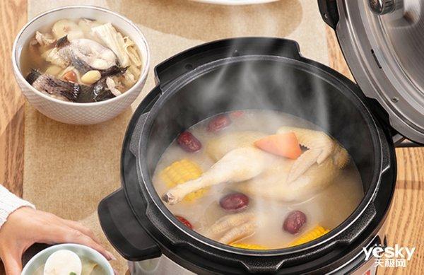 压力锅抽查样品全合格!电压力锅和传统压力锅有何区别?