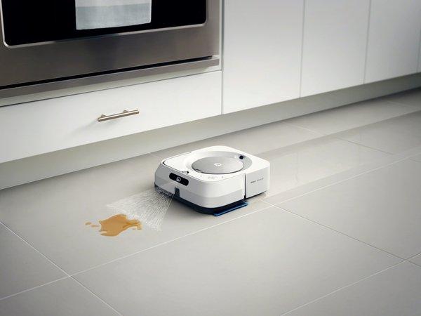 iRobot推出全新Braava jet® m6 擦地机器人和ImprintTM 互联技术