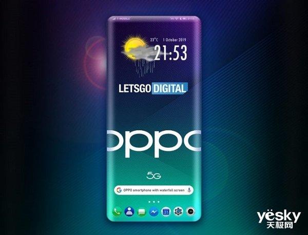 手机晚报:OPPO四曲屏专利曝光 Galaxy A91规格泄露