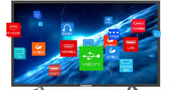 长虹电视黑屏怎么解决?