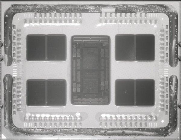 AMD 64核霄龙一共有395.4亿个晶体管