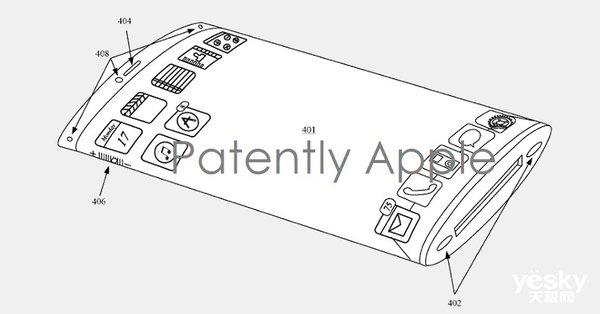 苹果环绕屏专利曝光 短期内量产可能性不大