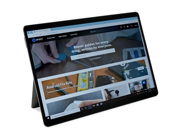 微软Surface Pro X拆解:SSD可直接更换,怒赞!