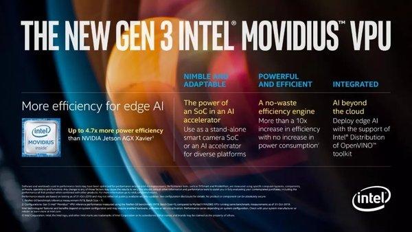 英特尔推出两款神经网络处理器与下一代VPU 意图加速AI开发与部署