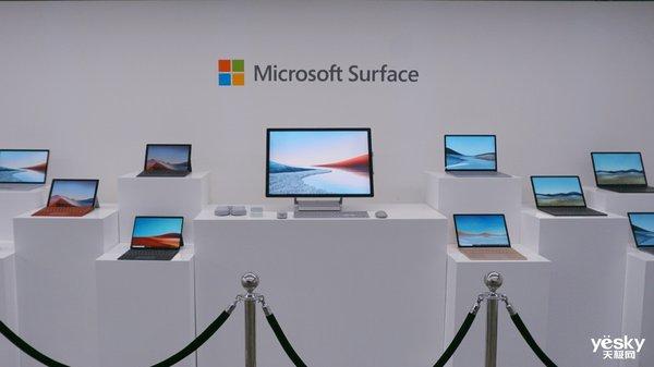 微软推出全新一代Surface商用版 打造软硬件一体行业解决方案