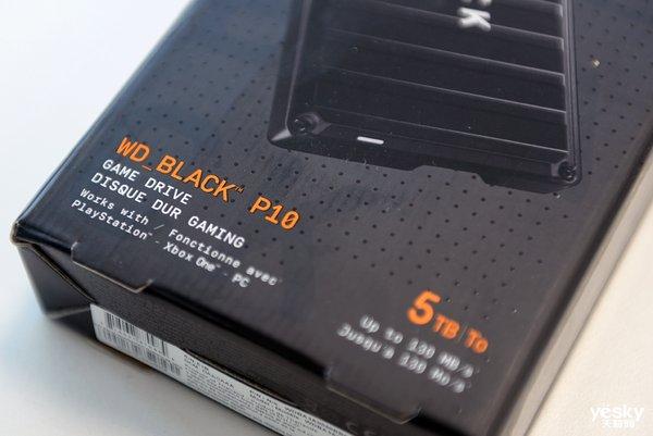 随身游戏仓 WD_BLACK P10游戏移动硬盘评测