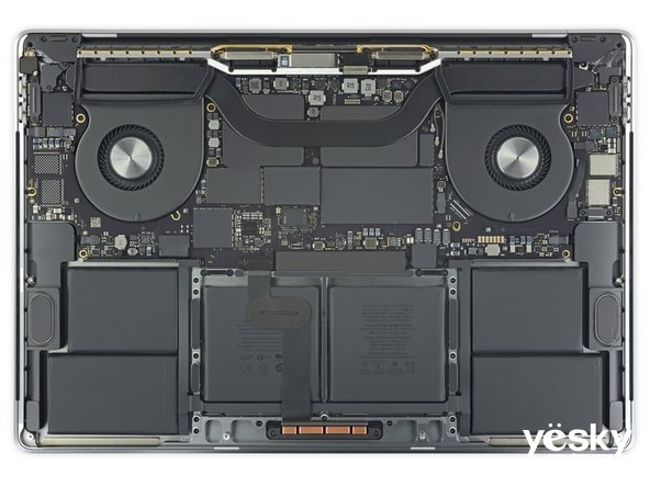 16英寸MacBook Pro拆解:堪称年度最难维修笔记本