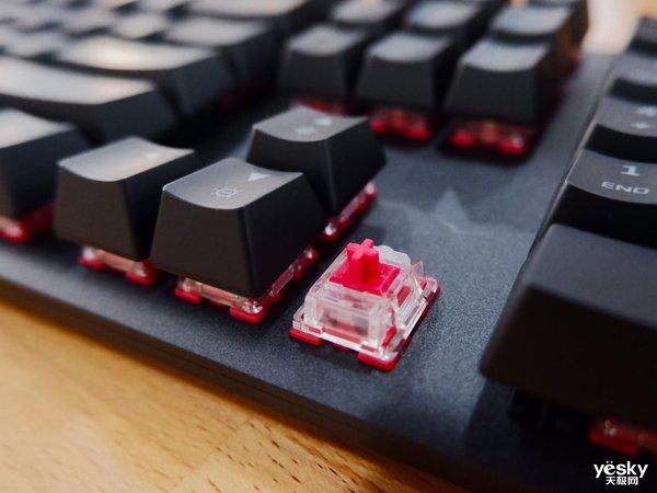 自有轴体 HyperX Alloy Origins RGB电竞机械键盘售价649元