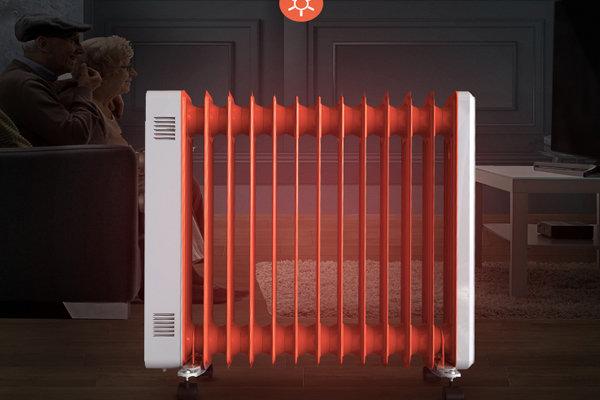 冬天取暖不再靠抖 加热速度快电暖器推荐