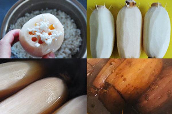 极客美食:年夜饭之―电饭煲版蜜汁莲藕