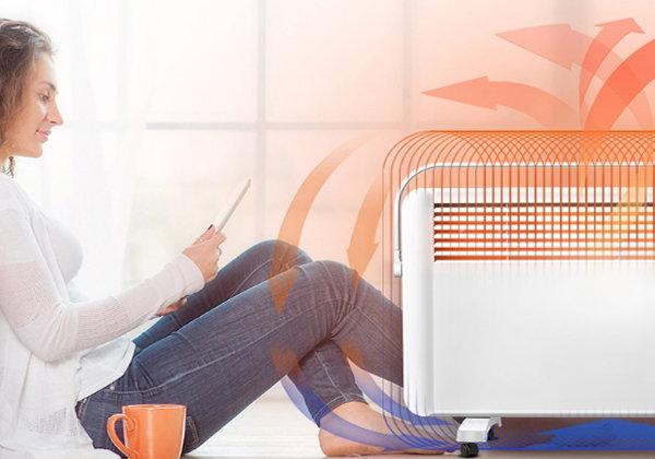 下雪天又冷又冻 开启电暖器让家温暖如春