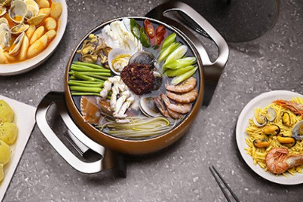 极客美食:滋补养身―电火锅版海鲜火锅