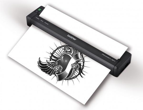 兄弟PJ-773,可以随身携带的移动打印机