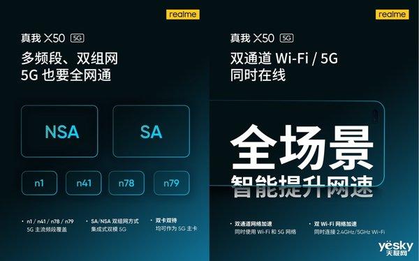 5G青年旗舰 realme真我X50定于1月7日发布
