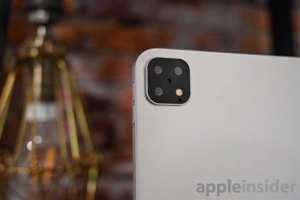 2020年初发布 苹果新款iPad Pro将支持后置三摄