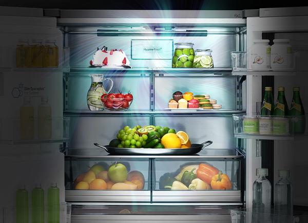 更具生活美学 LG将在CES上展示首款能够制出球形冰块的冰箱