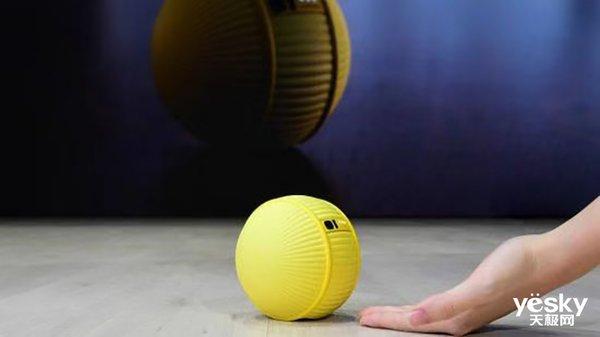 CES2020:三星发布基于AI技术的机器人Ballie