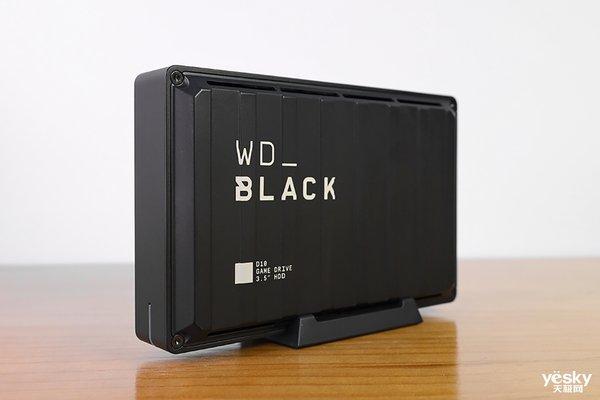 8TB存储空间圆你游戏收藏家之梦  WD_BLACK D10游戏外置硬盘评测
