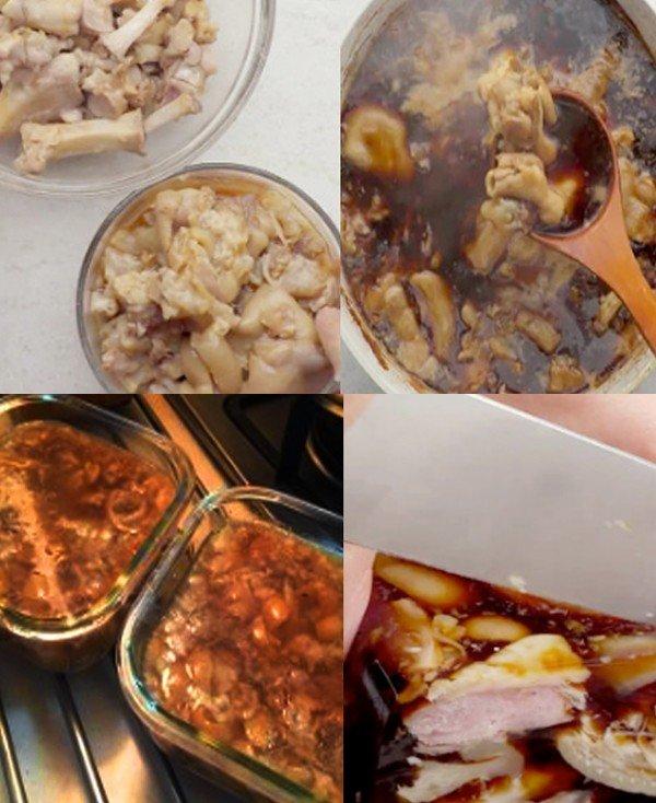 极客美食:年夜饭之―高压锅版猪蹄冻