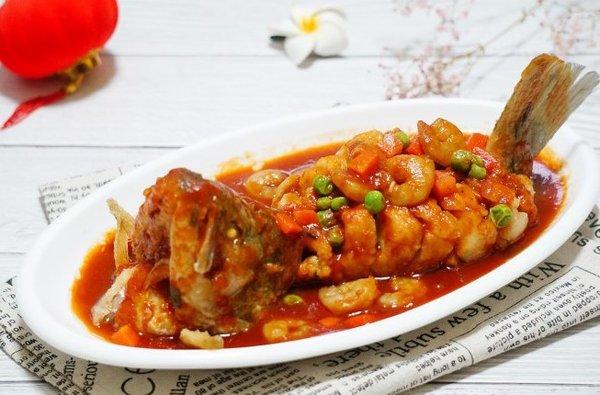 极客美食:年夜饭之―燃气灶版松鼠鲈鱼