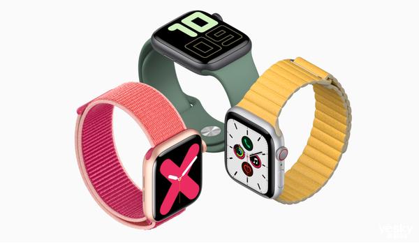 2019年Apple Watch销量突破3000万 同比上涨36%
