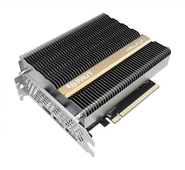 同德推出被动散热的GTX 1650 KalmX显卡