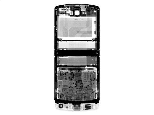 iFxit拆解Moto Razr折叠屏手机 电池粘在屏幕上超难维修