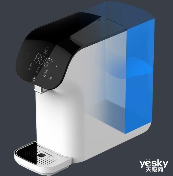 UV杀菌安全饮水 云米X1净饮一体机