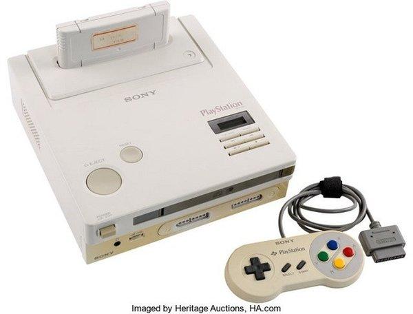 玩家收藏精品 任天堂PlayStation竞标价格超过20万美元