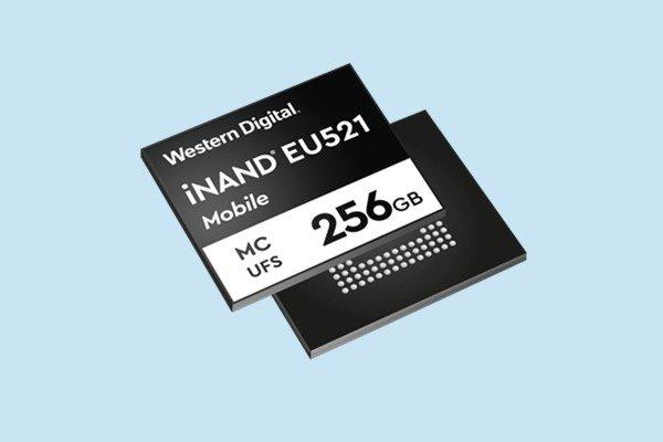 西部数据发布UFS3.1闪存:最高写入速度达800MB/s