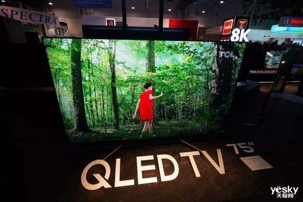 QLED销量猛增 三星电视再夺全球销量第一