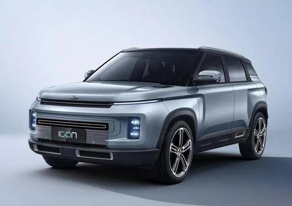 汽车黑科技与众不同 吉利ICON今日在线上市