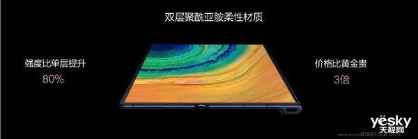 华为Mate Xs折叠屏5G手机发布,2月26日开始预约