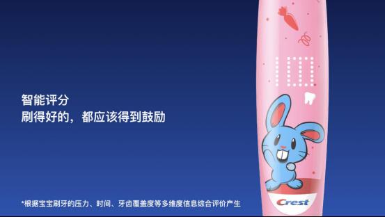佳洁士智能音乐儿童电动牙刷S7000K新品发布 助力儿童口腔健康问题