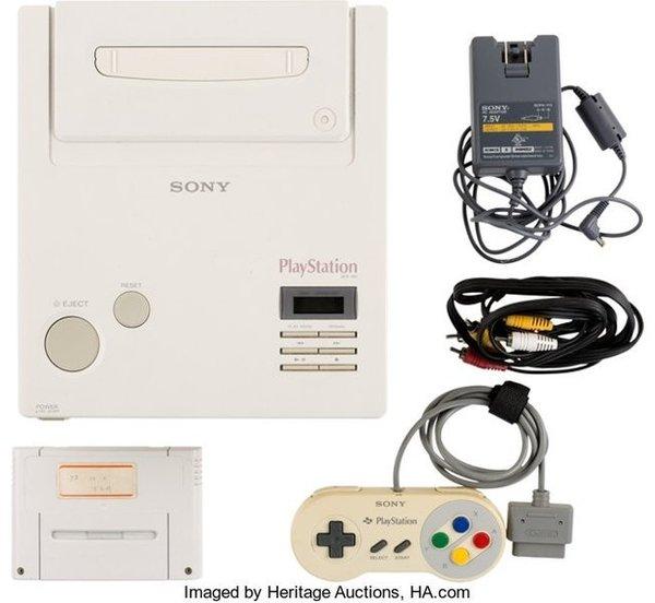 任天堂PlayStation原型机最终成交价36万美元