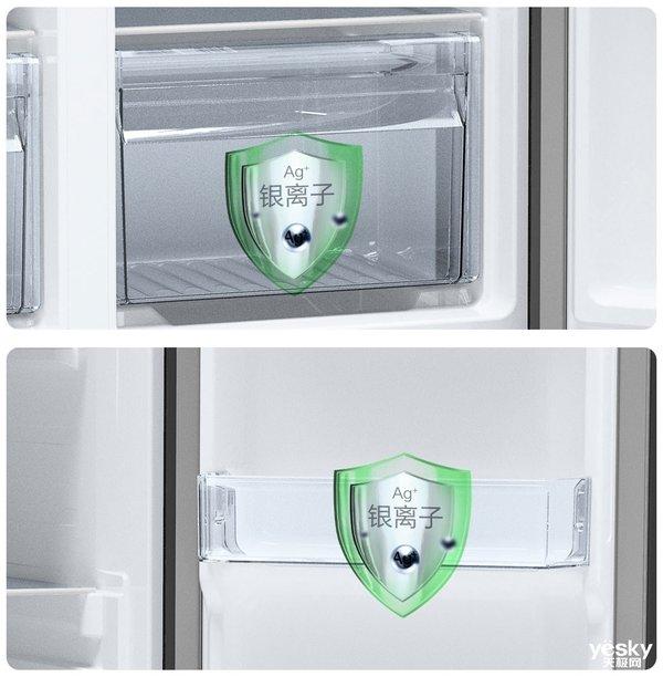 小户型用户福音 云米互动大屏冰箱也有纤薄型了