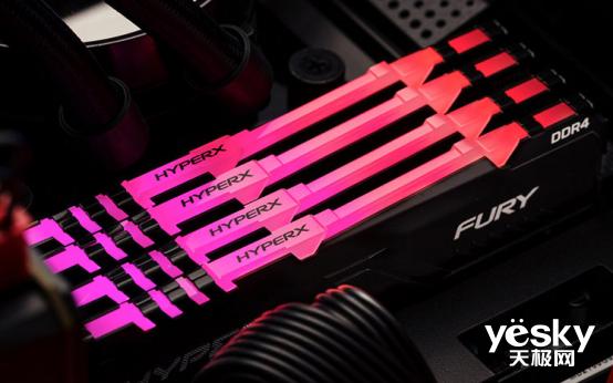 电脑高速焕新 HyperX FURY DDR4系列骇客神条又添高频新成员