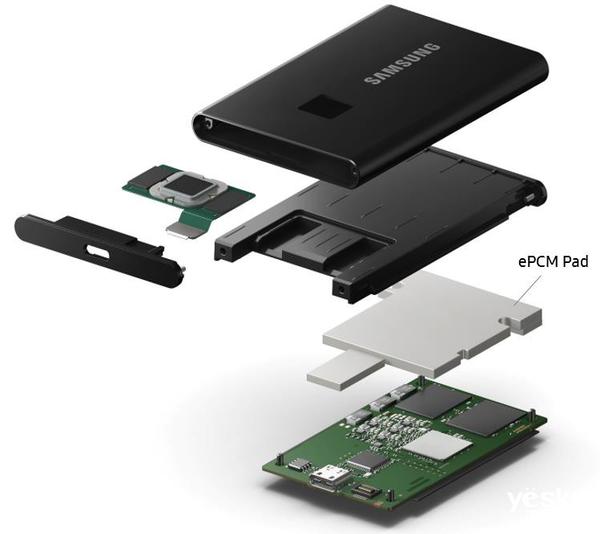 速度与安全在指尖跳跃 三星移动固态硬盘T7 Touch评测
