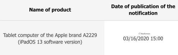 新iPad机型现身ECC数据库 或为传闻三摄iPad Pro