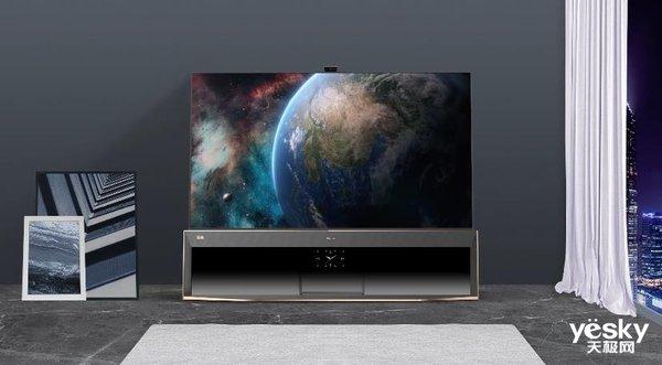 技术革新者!海信发布全球首款8K Pro双屏电视