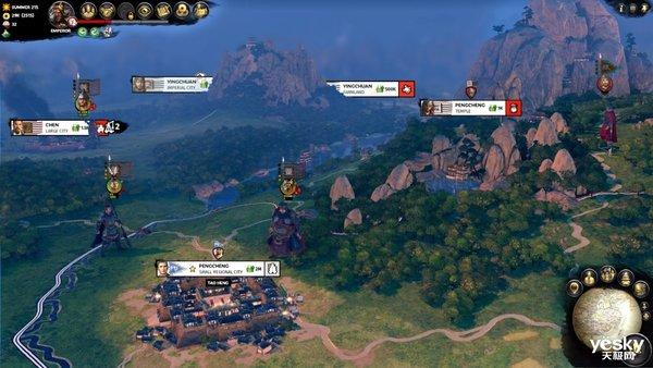 """《三国:全面战争》DLC""""弃叛之世""""登陆Steam,索泰显卡与你一起再创盛世"""