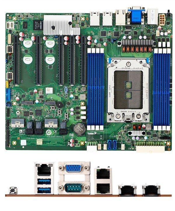 ASRockRack推出ROMED8-2T主板:7条全速PCIe X16