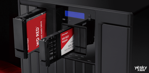 NAS轻http://image.yesky.com/a松扩容提速 西部数据NAS红盘HDD/SSD评测