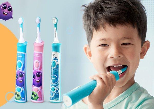 守护口腔健康从小时候开始 儿童几岁能用电动牙刷?