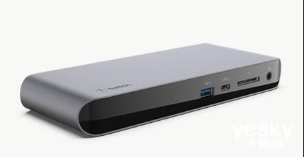 贝尔金(BELKIN)推出升级版雷电3扩展基座Pro