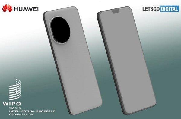 华为设计新专利曝光:暗示将圆形后摄模组挪到背部左上角